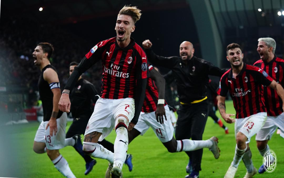 Кастиљехо: Исклучително важна победа, Милан го заслужува ова!