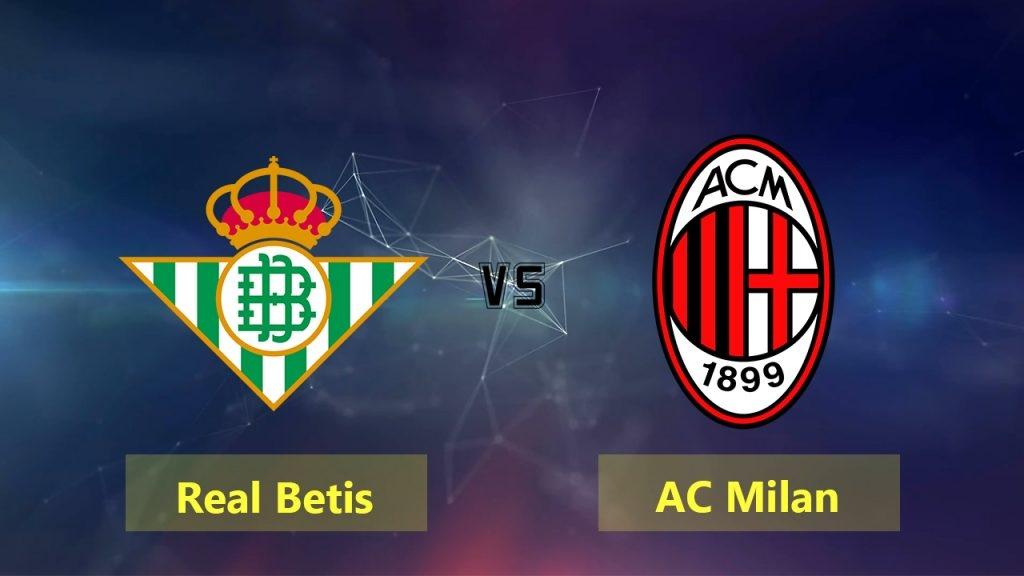 Најава: Бетис – Милан | Победа за пласман во следната фаза!