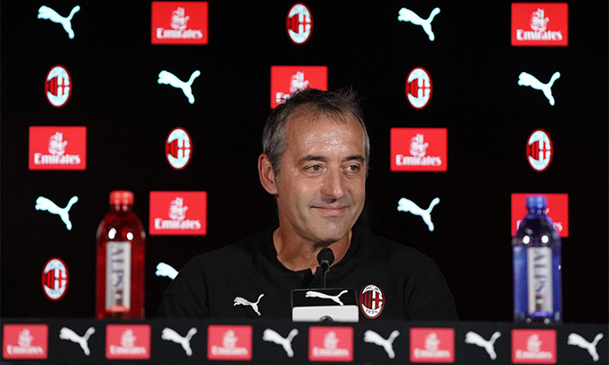 Џампаоло: Против Удинезе, сакам да го видам мојот Милан!